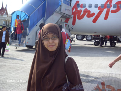 di Bandara Internasional Minangkabau